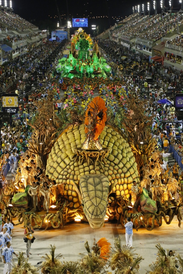 Vila Isabel, the winning samba school in 2013.