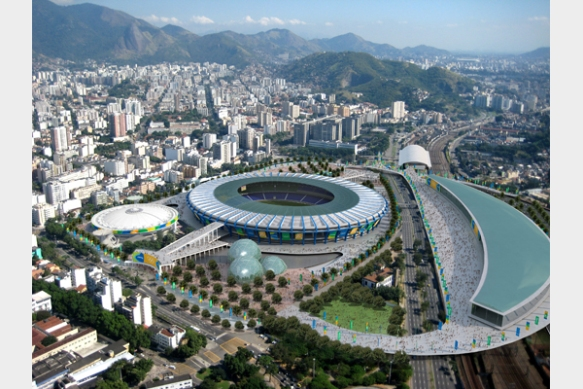 Maracana - Opening & Closing ceremony.