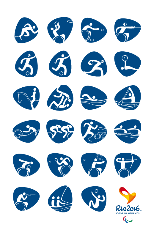 Paralympic Pictograms 2016