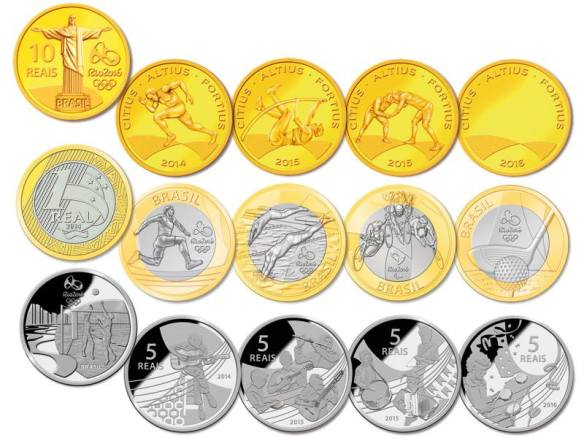 Olympic Coins 2016 1