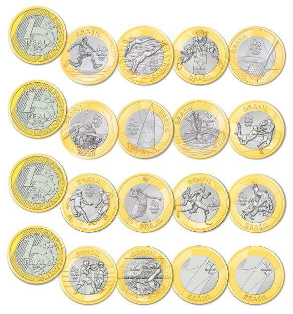Olympic Coins 2016 2