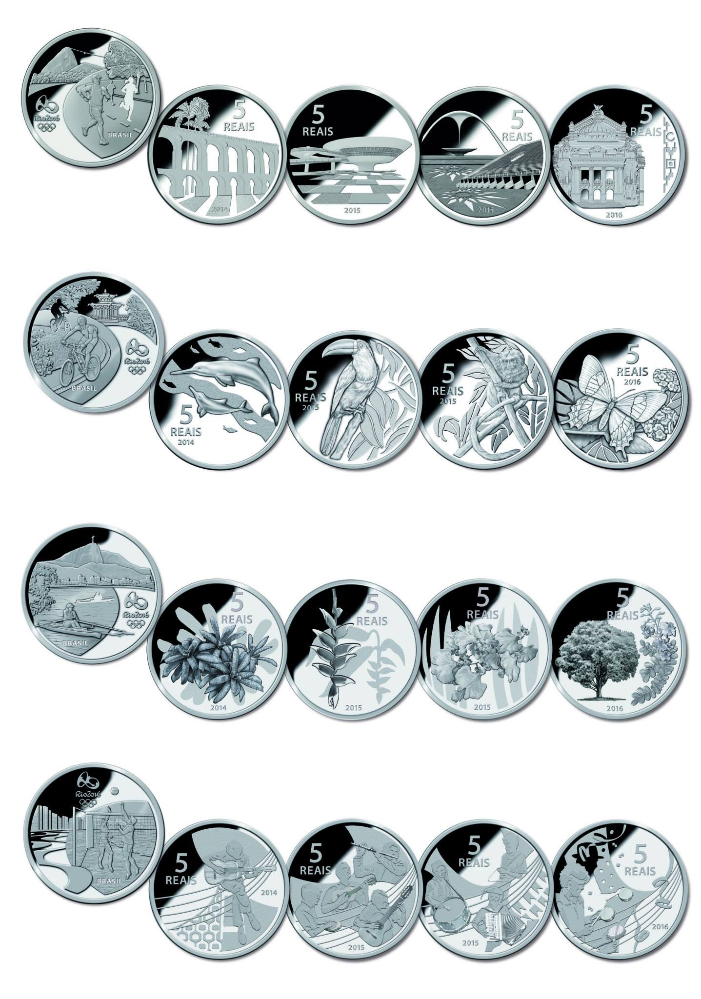 2016 Olympic Coins