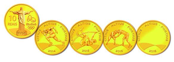 Olympic Coins 2016 4