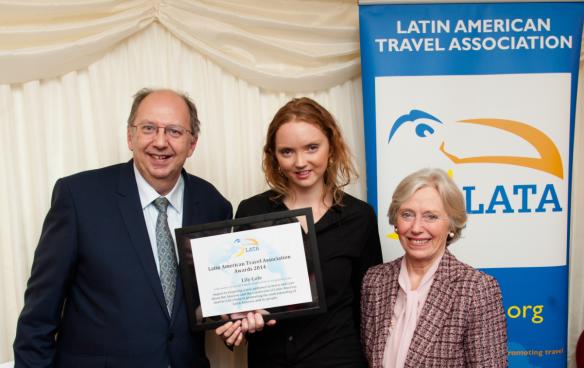 Lily Cole LATA Award