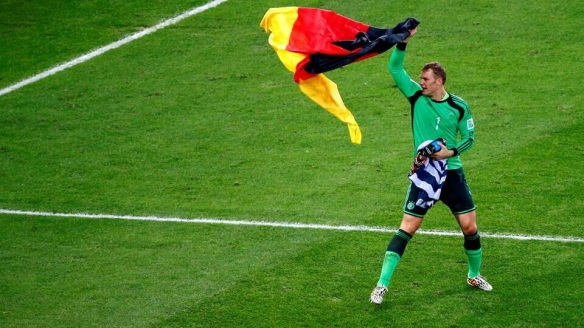 German goalie